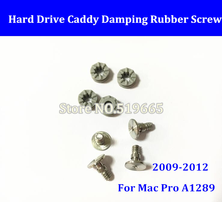 For Mac Pro HDD Carrier/Caddy Hard Disk Driver Tray Bracket A1289 09-12 Machine Damping Rubber Screws