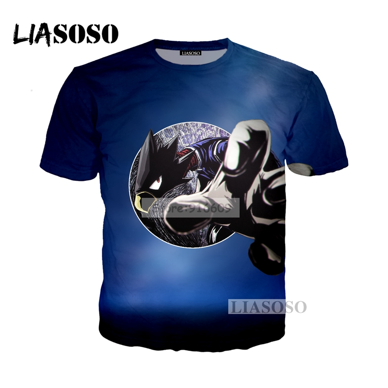 LIASOSO NEW Anime Boku No Hero My Hero Academia Cosplay Tees 3D Print t shirt/Hoodie/Sweatshirt Unisex Good Quality Tops G771