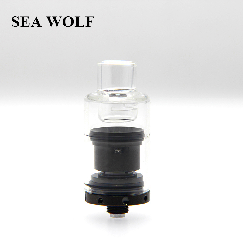 Original Glass Globe Atomizer Dry Herb Vaporizer Wax Bubble Tank Ceramic Coil Head for heavy wax and thick oil