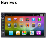 Navivox 7 ''Android 6.0 Ram1G Full Touch 2din Universal GPS Navigation Radio Stereo Audio Player 1024*600 RDS/SWC/BT/Wifi/3g/4g