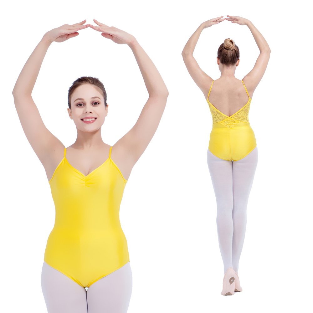 retail-wholesale-yellow-shiny-lycra-lace-camisole-font-b-ballet-b-font-leotard-pink-girls-dancewear-black-ladies-gymnastic-bodysuit-11-colors
