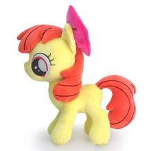 Милые большие глаза Единорог Лошадь яблоко Блум Kawaii Плюшевые Детские игрушки кукла день рождения праздник Рождество маленький подарок