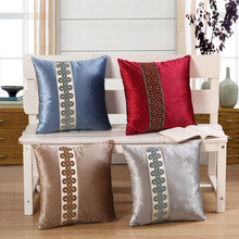 New velvet cushion / pillow Chinese classical home accessories