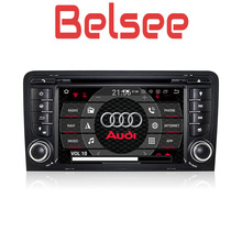 Belsee Octa Core PX5 4G+32G Android 8.0 Car Radio Multimedia Player 2 Din GPS Navigation Autoradio Unit for Audi A3/S3 2003-2012