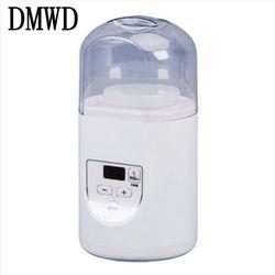 DMWD Electric Yogurt Maker Multifunction Portable Automatic Mini Leben Yoghurt Fruit Enzyme Machine Natto Rice Wine Fermenter 1L