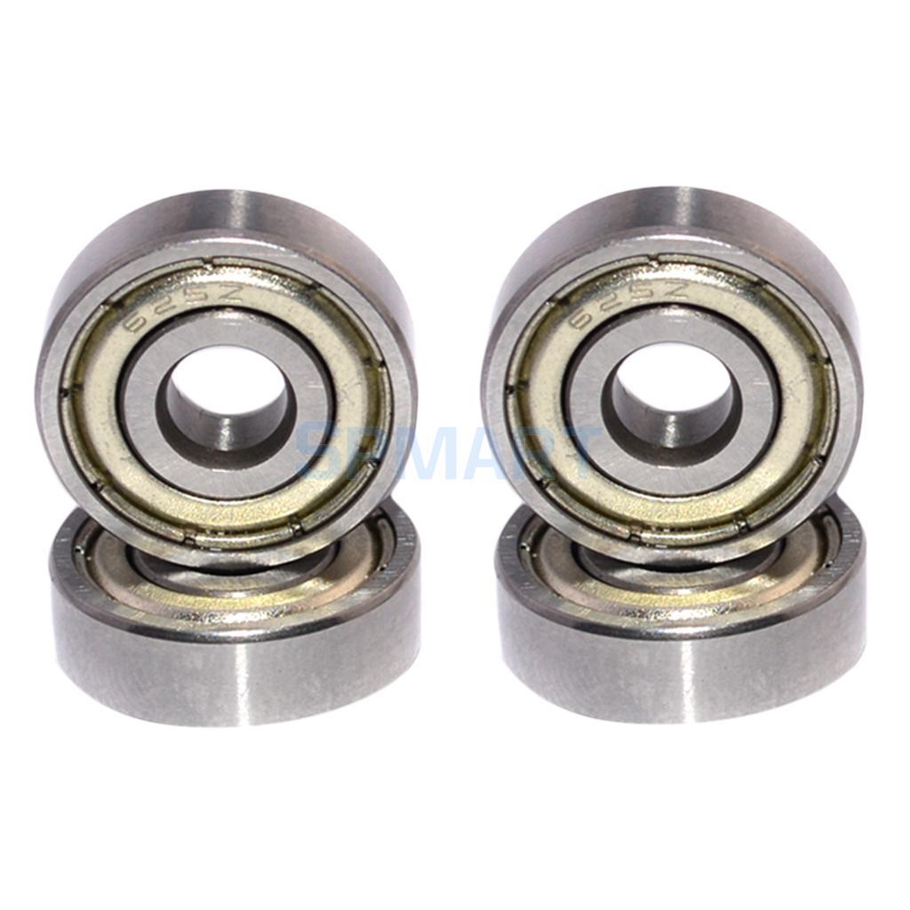 625ZZ ABEC-5 10 UNIDS Ball Bearings for 3650/3656/3660/3670/3674/4068/4076/4268/4274/1512/1515 Brushless Motor 40 40mm heatsink fin dc 5v fan cooling for hobbywing leopard rc brushless motor engine 42mm 1515 4274 4268 812 t8 k80 4272
