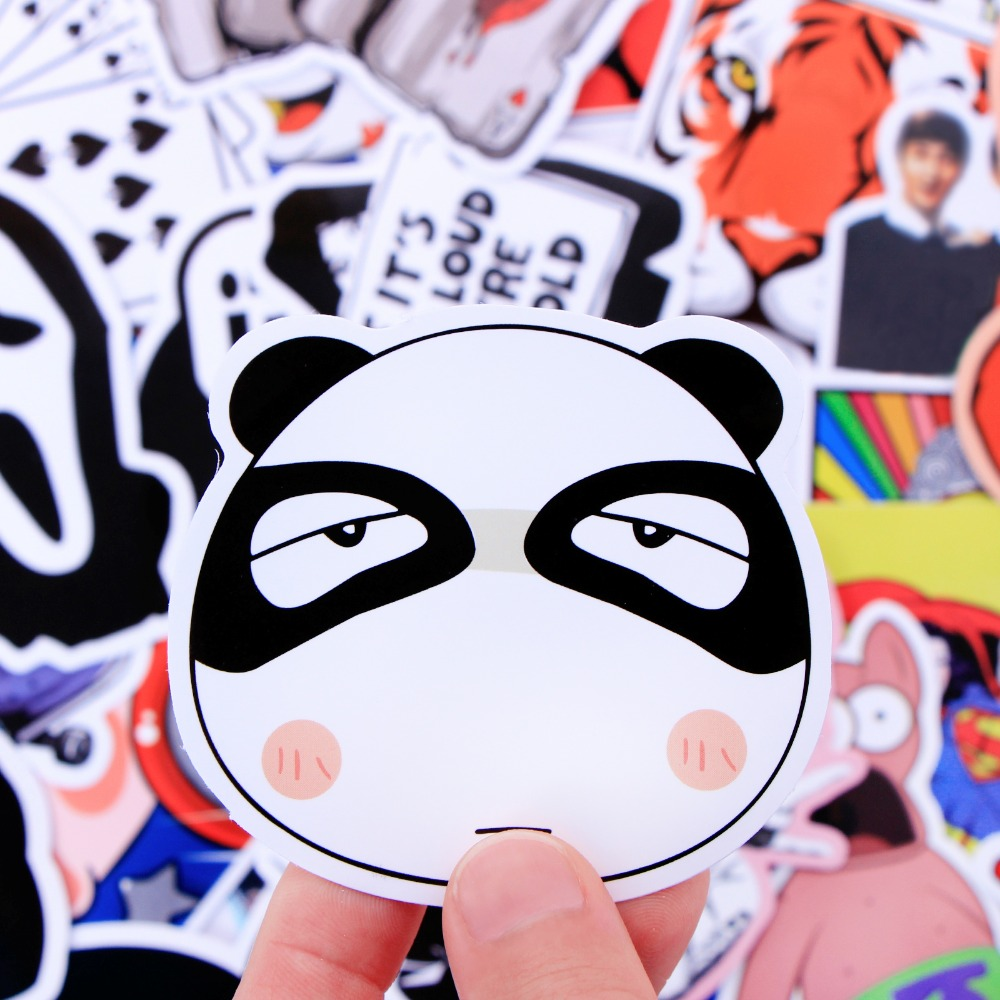 Image 4 - Random 1000 Pcs JDM Stickers Funny Cartoon DIY Cool Sticker For Car Laptop Skateboard Motorcycle Furniture Decal Not Repeat Toys-in Stickers from Toys & Hobbies