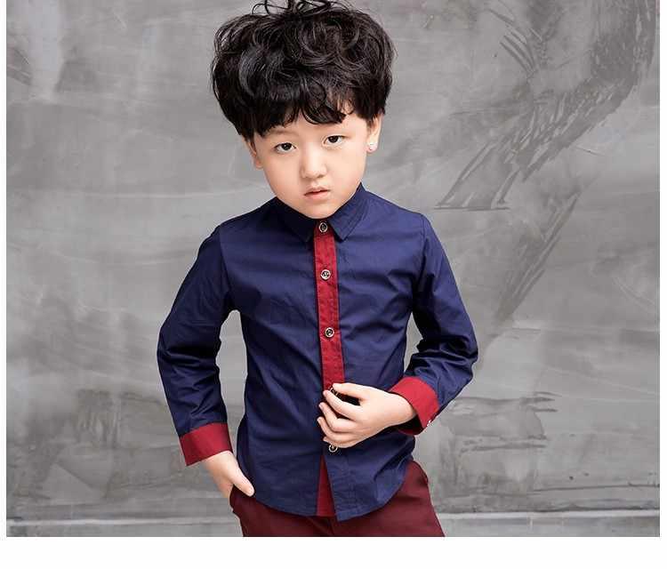 931ca6e894 Blue/red Children Suit Big Boys Suits Kids Blazer Boys fashion Suit For  Wedding Boys Clothes Jackets Blazer+Pants+shirt 3-10Y