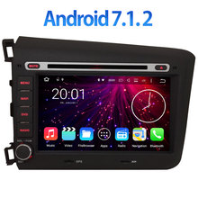 Android 7 1 2 Multimedia GPS Navi 8 Quad Core 4G LTE SIM WIFI Car DVD