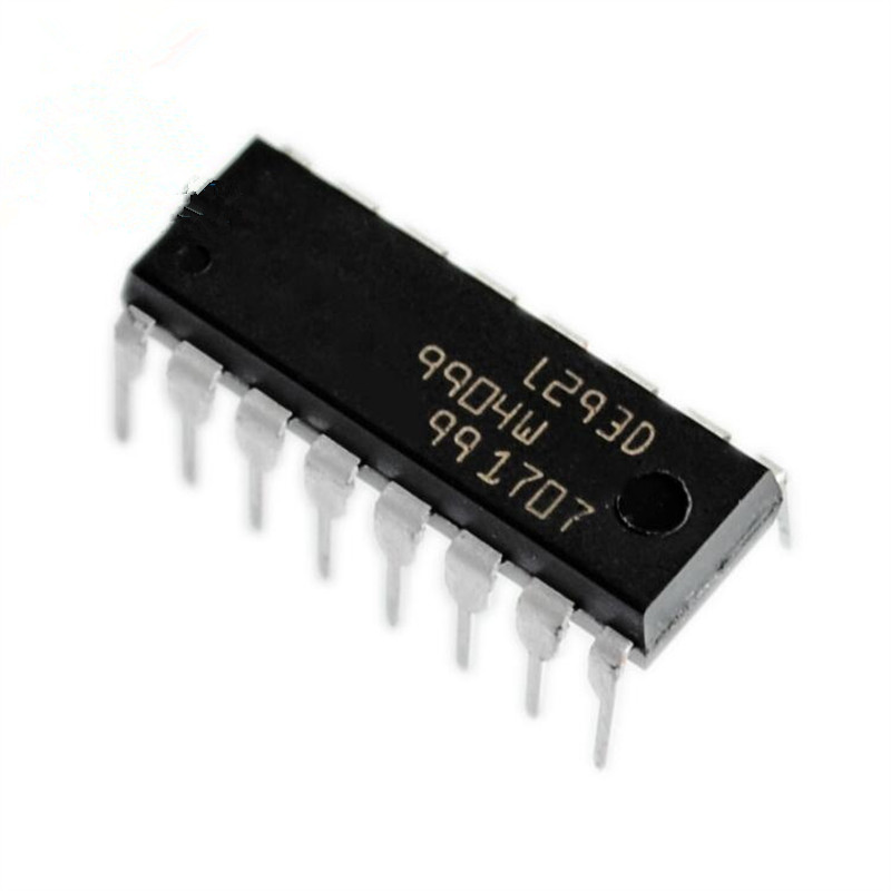 1pcs/lot L293 L293D stepping driver IC / driver + four diode DIP-16 Straight plug 50pcs moc3052 triac driver ic optoisolator photocoupler optocoupler dip 6