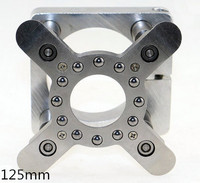 Spindle Motor Clamping Bracket Diameter 125mm Automatic Fixture Plate Device For Water Cooled Air Cooling CNC