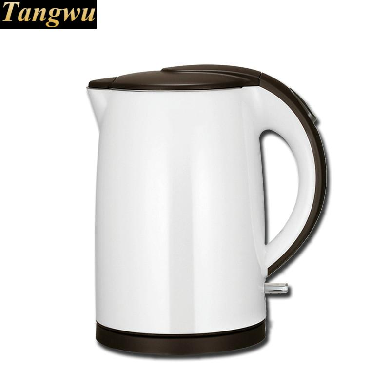 Electric heating kettle household 304 stainless steel small automatic power - off cukyi stainless steel 1800w electric kettle household 2l safety auto off function quick heating red gold