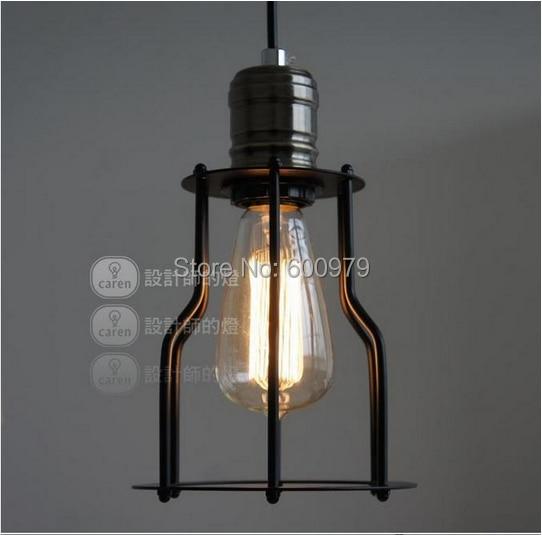 Free shipping modern lamp  Loft vintage wrought iron pendant lights (Dia 15cm*25cm)