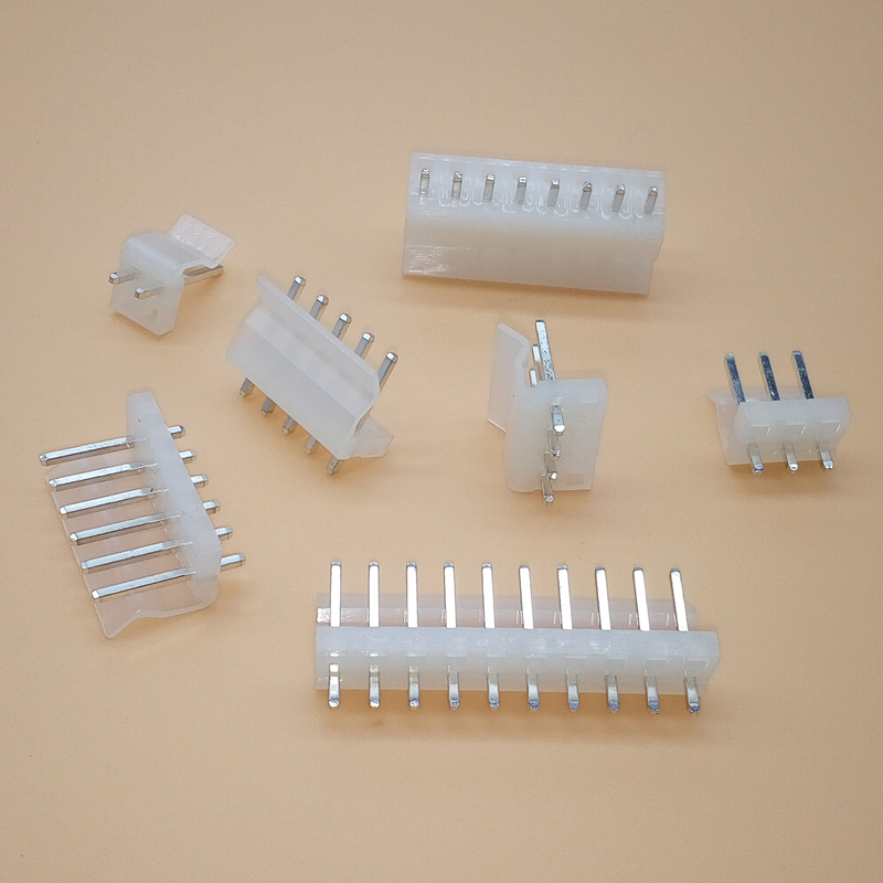 New 20Pcs CH3.96 Pitch 3.96mm Straight Pins Connector Pin Header 8Pins