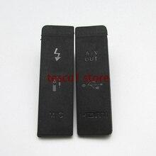 USB резиновая крышка интерфейс микрофона пыли видео HDMI AV-OUT крышка двери для Canon EOS 5D Mark II 5D2 5DII камера Замена