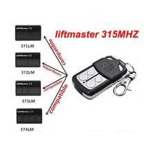 Nova liftmaster 371lm 372lm 373lm compatível com controle remoto 315mhz frete grátis