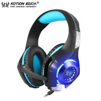 Gaming Headset Gamer For PS4 Tablet Laptop 3 5mm Headband Led Light PC Headphones Fone De