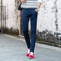 Mens Skinny Jeans For Man Classic Slim Fit The Japanese Men S Jeans Stretch Korean Youth