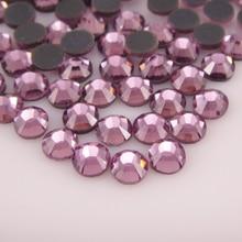 цены Glitter Hotfix Rhinestones SS6 SS10 SS16 SS20 SS30 1440pcs All colors HotFix Flatback DMC Glue back Iron On For Garment Dresses