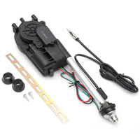 1Set Universal DC12V Auto Car Power Electric Aerial Automatic Retractable Antenna Mast AM FM Radio With?Accessories