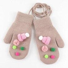 BING YUAN HAO XUAN Winter Gloves Women Colorful Cartoon Skins Gloves Fingerless Mittens Knitted Warm Female Gloves недорго, оригинальная цена