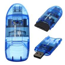 EastVita de alta velocidad Mini Micro SD T-flash SDHC TF USB 2,0 adaptador de lector de tarjeta de memoria r60(China)
