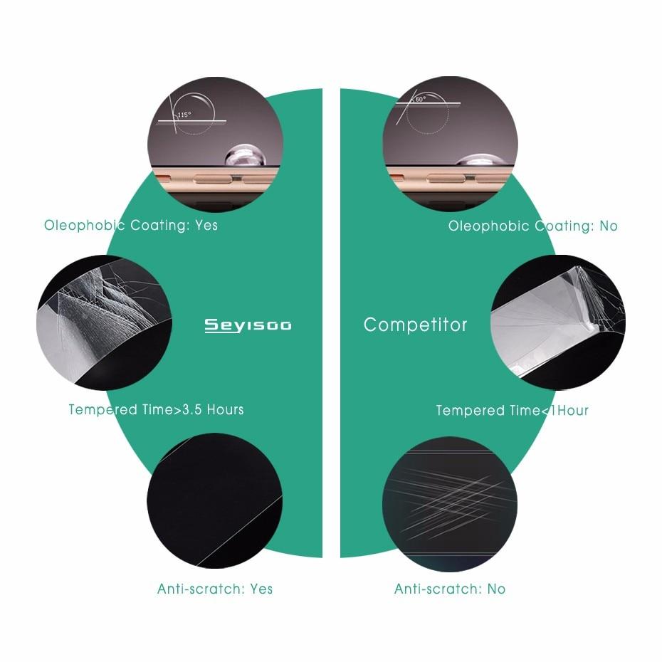 100% original Seyisoo 2.5D 0.3mm mycket responsiv skärmskydd härdat - Reservdelar och tillbehör för mobiltelefoner - Foto 4
