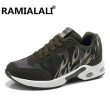 brand new 6f3b0 a5516 Ramialali Valentine Femmes Sneakers Dames Sport Blanc Chaussures de Course  Chaussures pour Hommes En Plein Air Hommes Sneakers S..