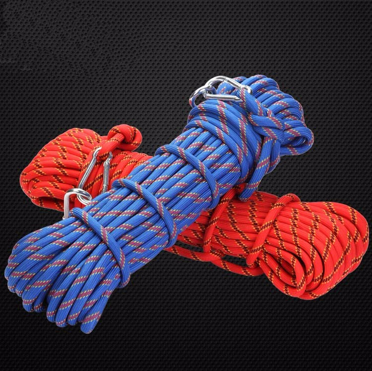 Crossfit Gloves For Rope Climbing: 20mm Outdoor Climbing Gear Ropes Climbing Rope Downhill
