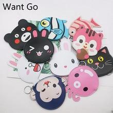 купить Want Go Cute Cartoon Child Coin Puses Kawaii Ainmal Women Coin Holders Pu Leather Small Bag Zipper Mini Change Wallet Purse Bag по цене 145.89 рублей