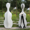 Yinfente Geavanceerde 3/4 4/4 Cello Case Carbon Composiet materiaal sterke/licht Wit