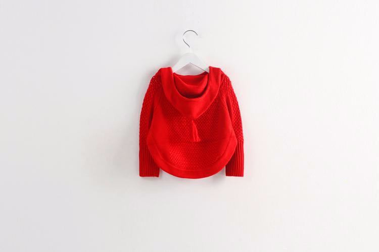 child hooded knitted sweaters 4