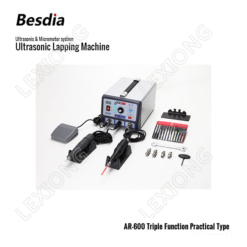 TAIWAN Besdia Ultrasonic Micromotor system Ultrasonic Lapping Machine AR 600 Triple Function Practical Type