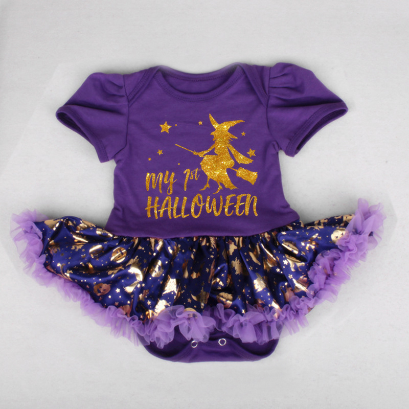 474e3b61c Hot Sale Halloween Jumpsuit Newborn Tutu Romper Dress Summer Baby Girls  Halloween Fancy Dress Cosplay Outfits Pumpkin Jumpsuits | AMAZINGSTORE4U