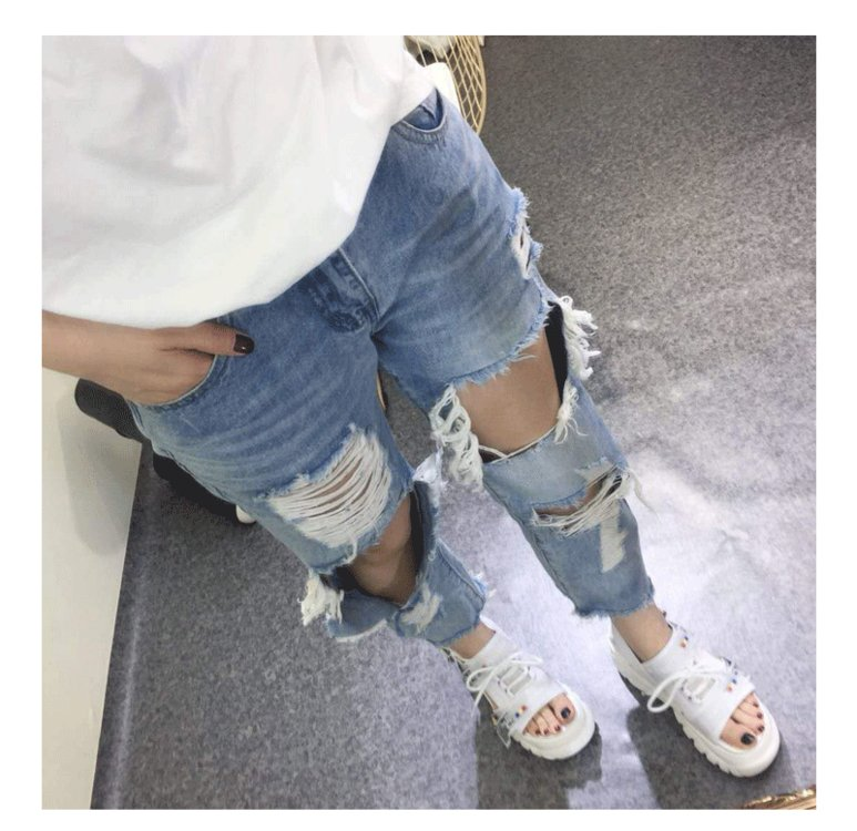 2019 Summer Chunky Sandals Women 8cm Wedge High Heels Shoes Female Buckle Platform Leather Casual Summer Slippers Woman Sandal