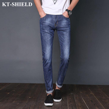 Spring Jeans Men Brand Fashion Denim Pants Men s Slim fit Straight Trousers Pantalones Masculina Casual