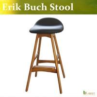 Free Shipping U BEST Replica Erik Buch Bar Stool Made In Ash Solid Wood 2015 Hot