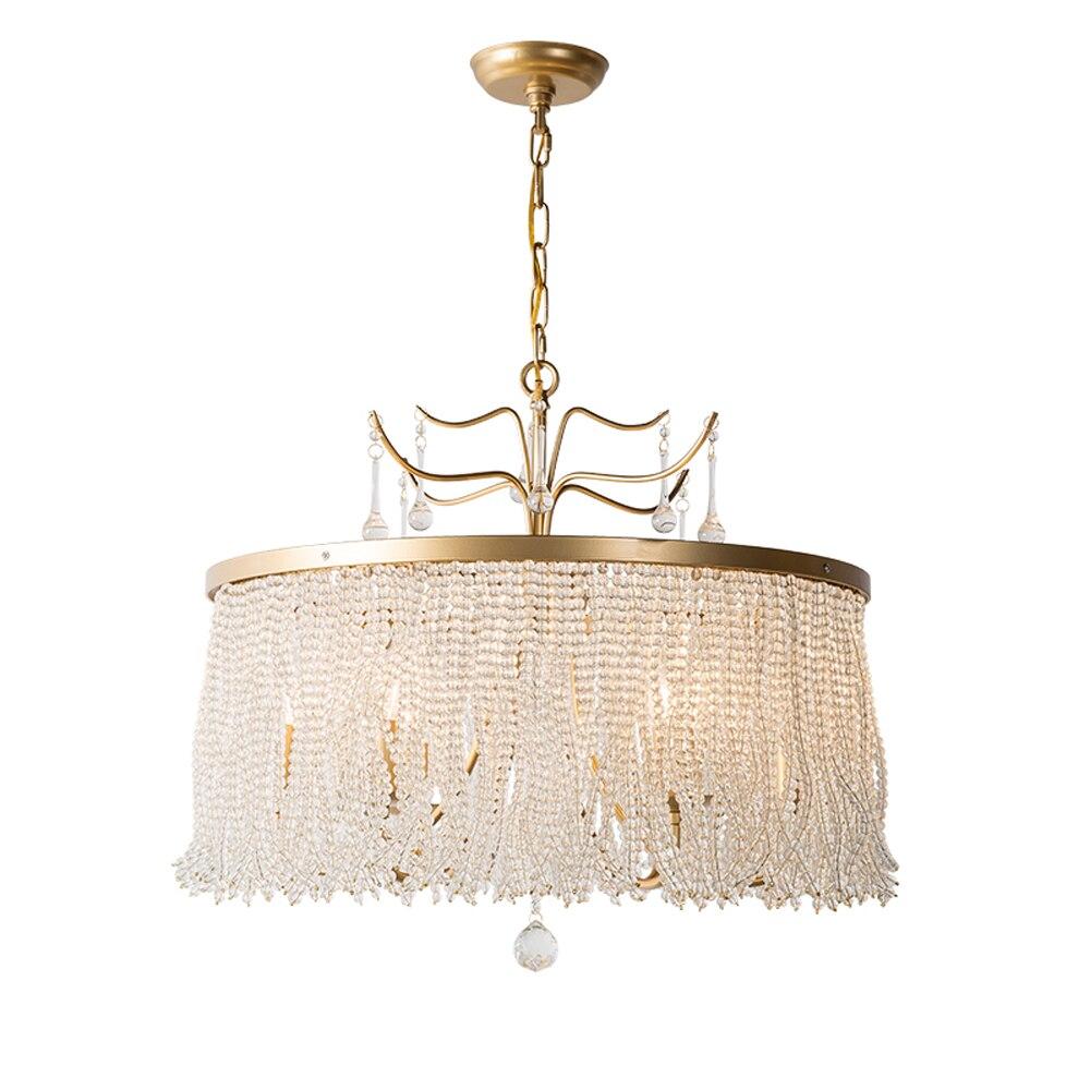新しい高級クリスタル hanglamp AC110V 220 240v 光沢クリスタル現代 lampadari ホーム照明 -