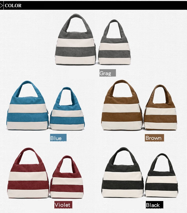 Famous Brand Women Shoulder Bag Casual Canvas Shopping Tote Bags Handbag for Women Beach Totes Shoulder Bag Hobos Bolso Mujer (7)