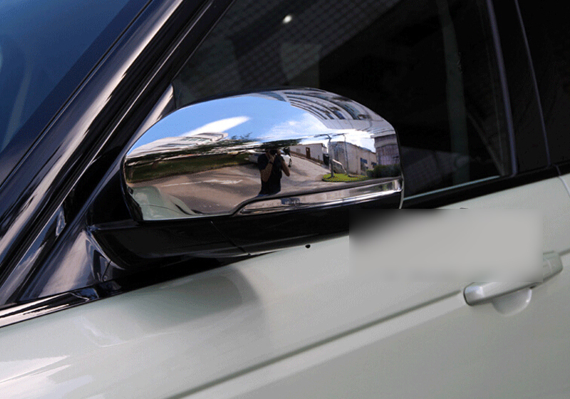 Chrome Side Door Mirror Cover Cover 4pcs For Land Rover Discovery 4 Lr4 2015 2014 In Interior