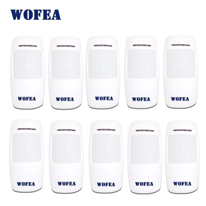 Wofea Wireless  Motion Detector PIR Infrared Sensor 1527 Type 3V Power For Home Security Alarm 433mhz 10pcs/lot