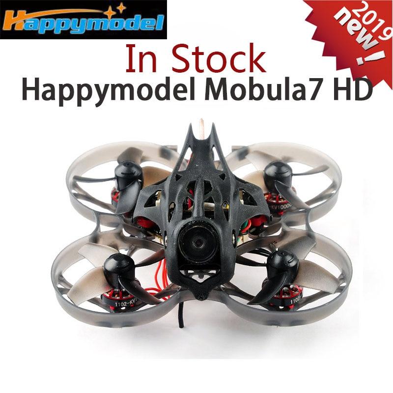 Happymodel Mobula7 HD 2-3 S 75mm crazy ybee F4 Pro Whoop FPV course Drone PNP BNF avec CADDX tortue V2 HD caméra