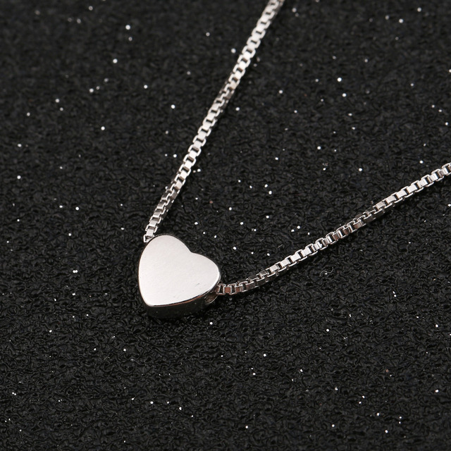 223ea5703599 Shuangshuo 2017 Fashion Jewelry Tiny Heart Choker Necklace Woman Vintage  Charm Love Heart Necklaces   Pendants Chokers collier