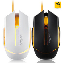 New James Donkey112 USB 2.0 Gaming Wired Mouse super Cool backlight Free Driver Perfect lighting system Comfortable Hand Feeling