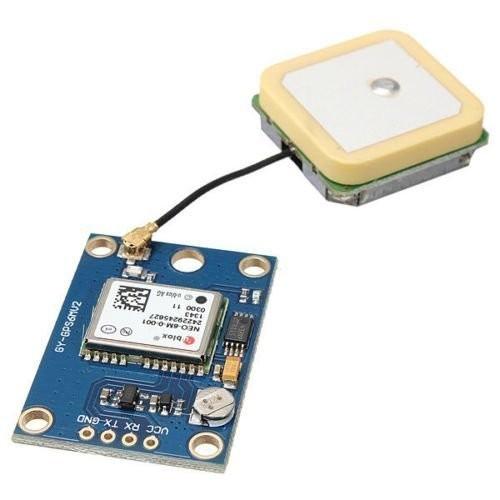 Envío Gratis 5 Unids Alta Calidad GY-GPS6MV2 GY-NEO6MV2 Módulo GPS NEO-6M con APM2.5 Control de Vuelo Venta Caliente