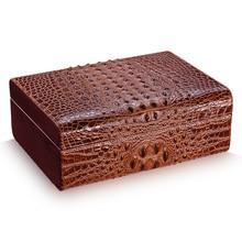 Cohiba cigar humidor Leather crocodile grain (hold 50 pcs) Cigar Accessories