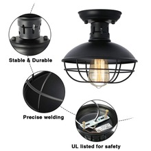 Buy flush mount ceiling light rustic and get free shipping