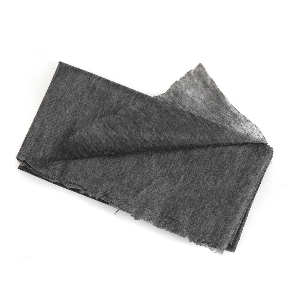 100 см 25 г/45 г белый серый черный нетканый материал прокладочный Утюг для шитья Лоскутная односторонняя клейкая подкладка DIY 1 шт.
