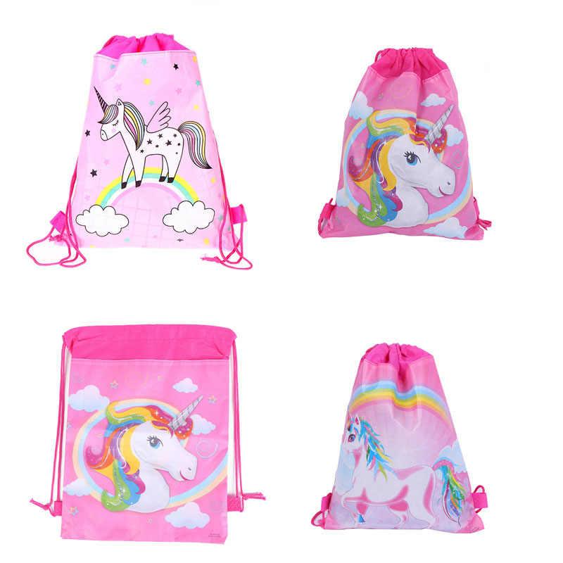 1 piezas de alta calidad telas no tejidas bolsa de regalo casa suministros de decoración de cumpleaños de los niños Han fiesta tema suministros