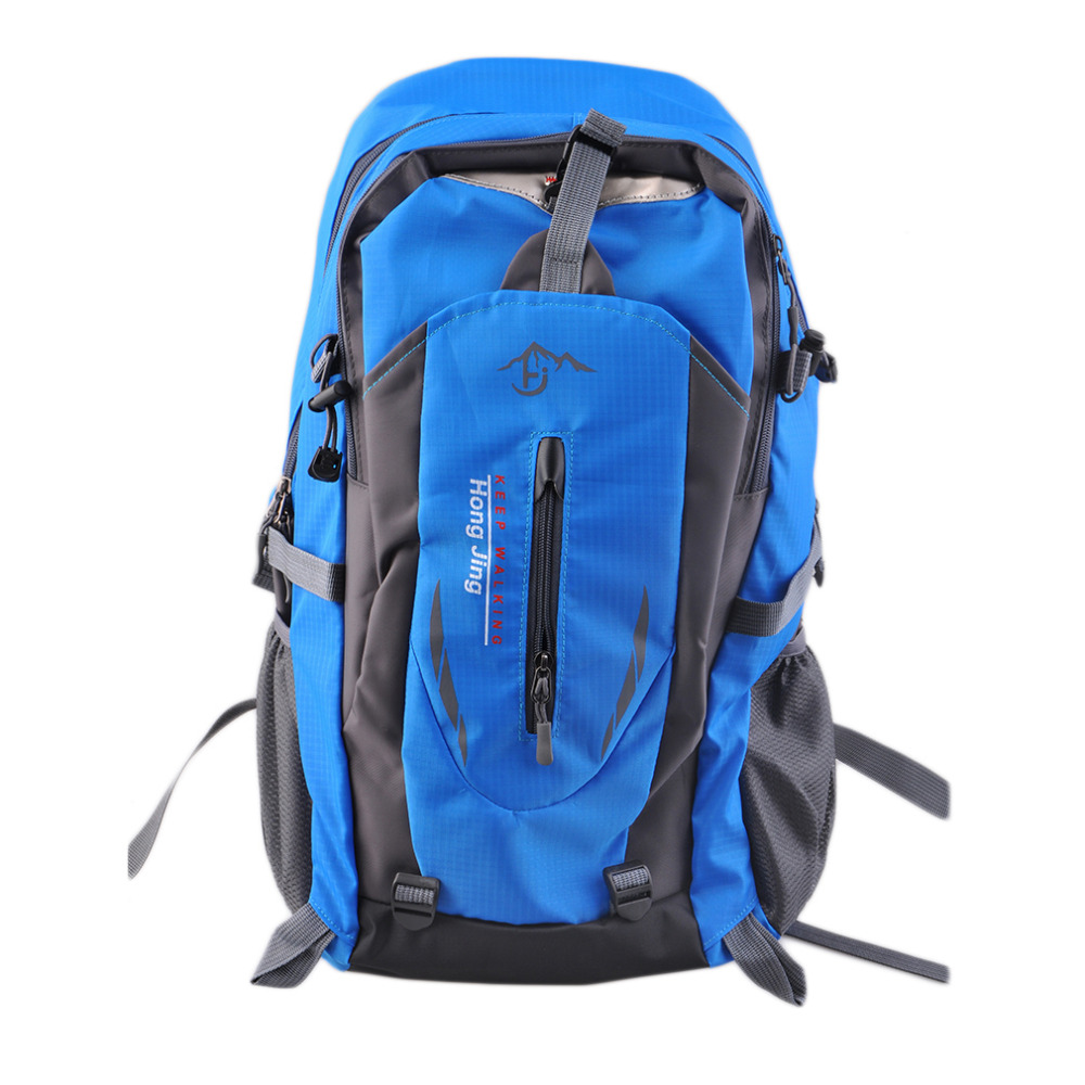 ⑥40l Nylon Outdoor Backpack Backpack Men Women Waterproof